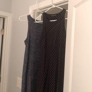 Athleta knit dresses from last season